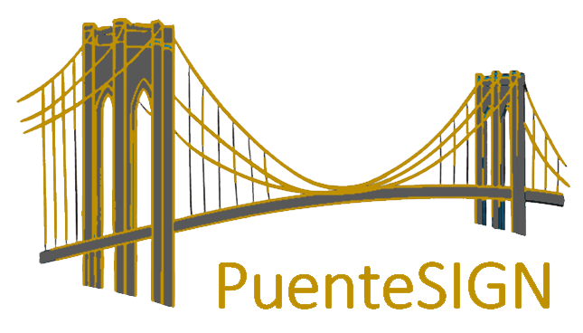 Imagen logo puente sign